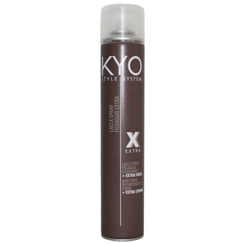 KYO Style System Extra Strong Hair Spray Λακ για Πολύ Δυνατό Κράτημα,  500ml.